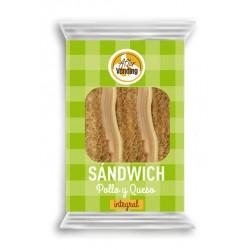 Sándwich Pollo y Queso