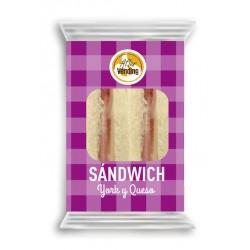 Sándwich York y Queso