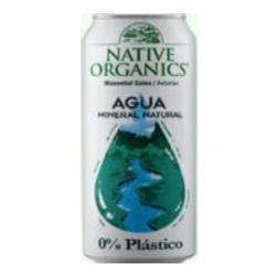 AGUA MINERAL NATURAL 0% PLASTICO