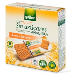 Snack de Avena y Naranja